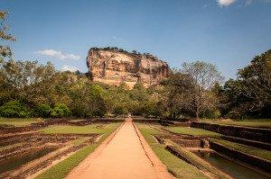 Lion rock, Sigiriya, Sri Lanka