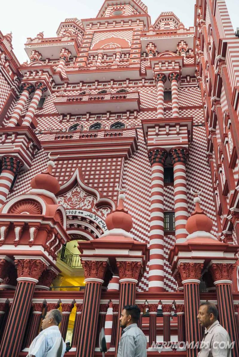 Jami-Ul-Alfar Mosque Colombo Sri Lanka