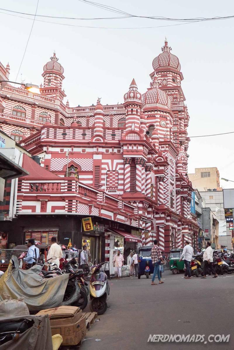 Jami-Ul-Alfar Mosque Pettah Colombo Sri Lanka