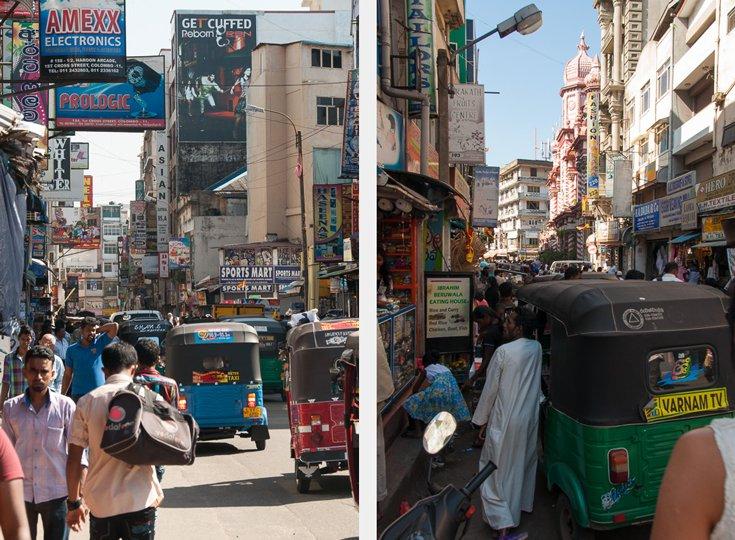 Colombo streets Pettah