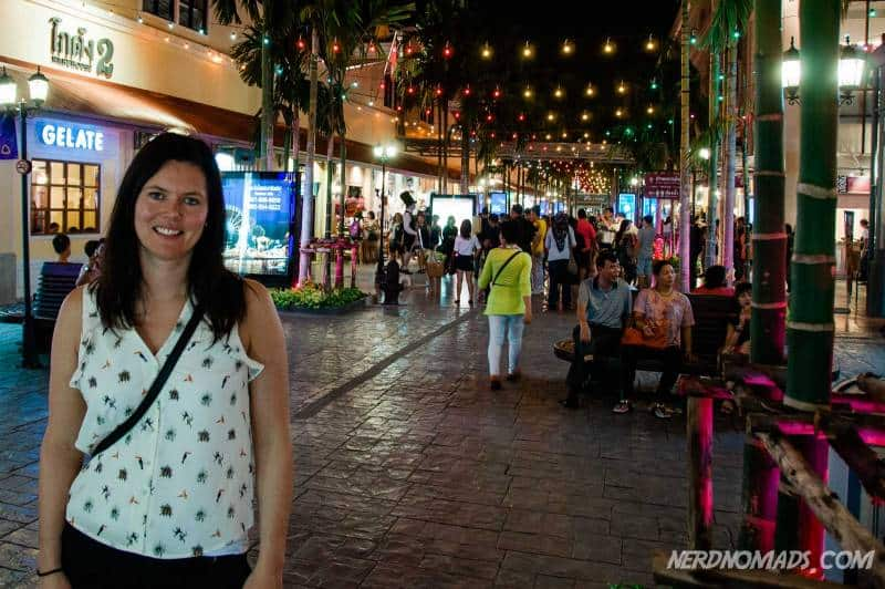 Asiatique is a great market at the Bangkok riverside selling Thai design and products