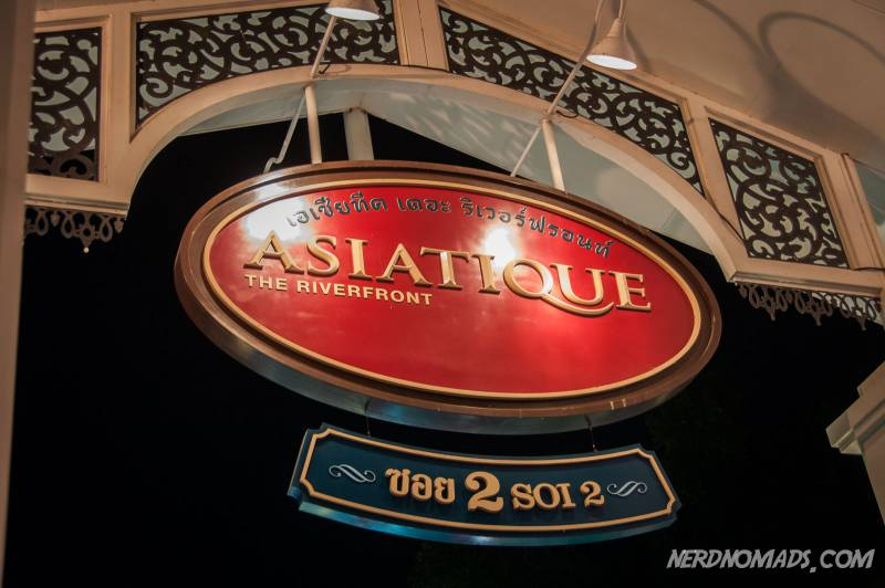 Asiatique market has plenty of nice shops and restaurants