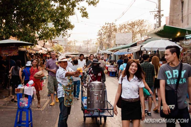 Chatuchak Weekend Market in Bangkok is the worlds biggest open-air market