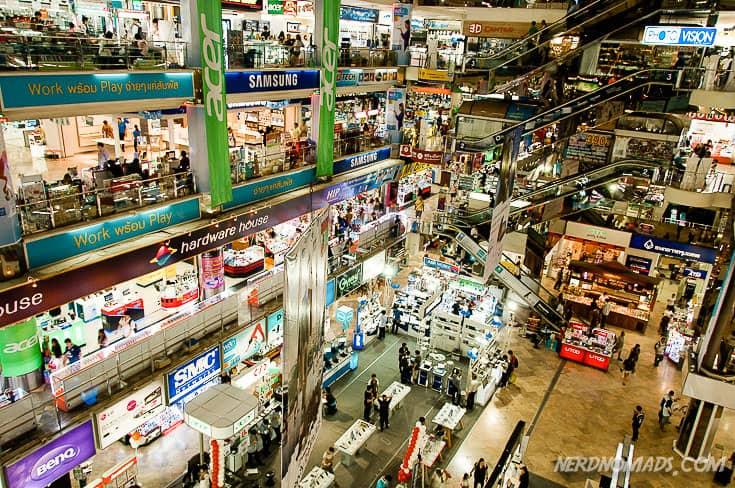 Bangkok new shopping mall
