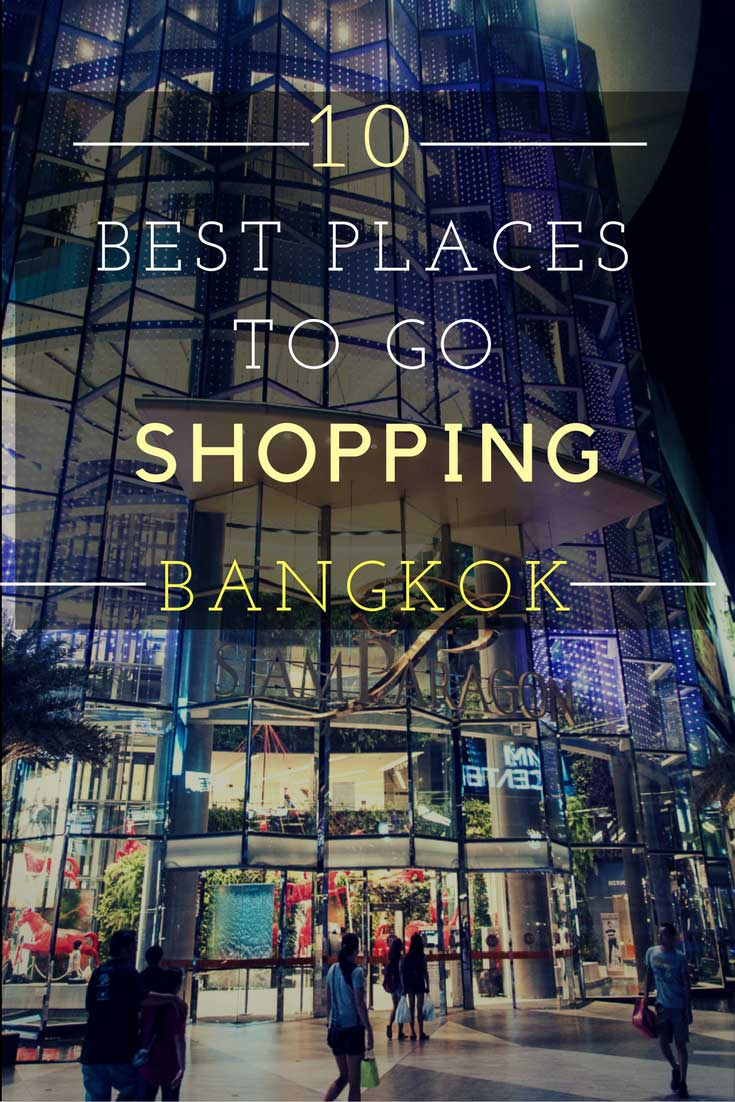 Bangkok is a great city for shopping with its many great shopping centers and markets. Here are the best places to go shopping in Bangkok! #bangkok #bkk #shopping