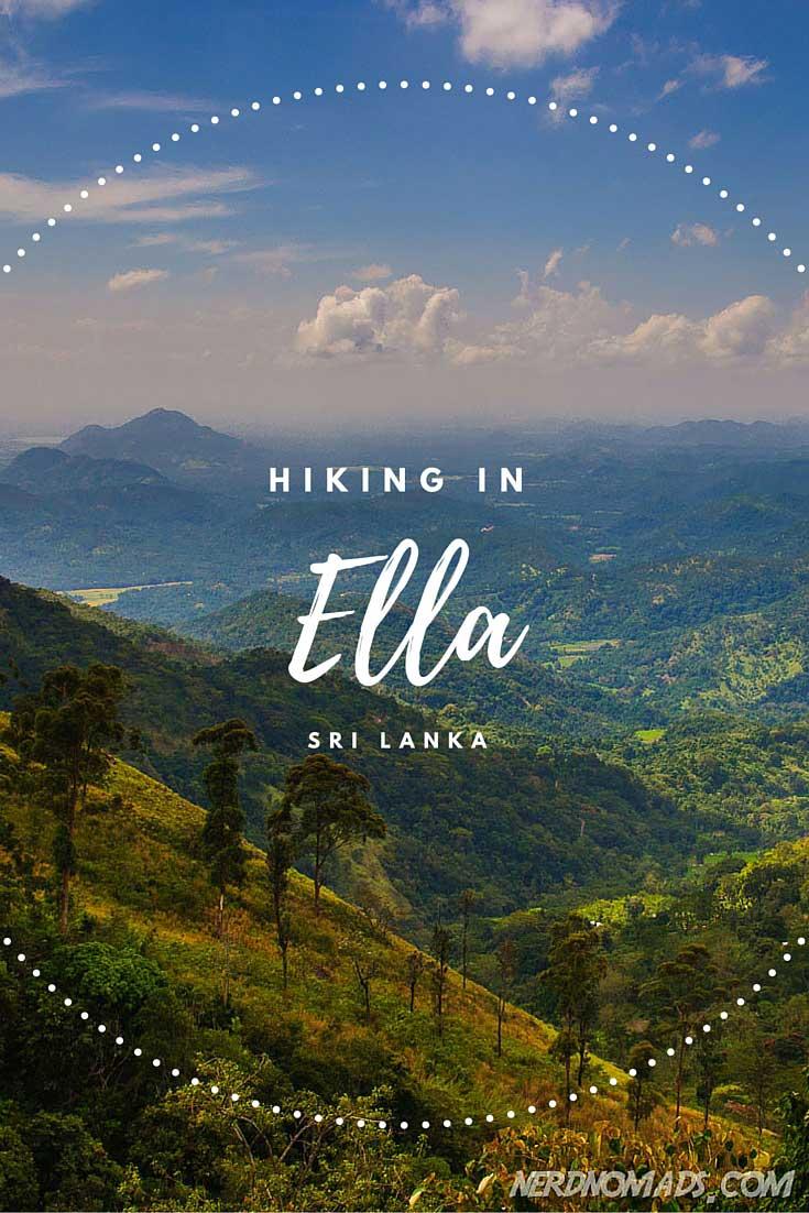 Breathtaking Hikes Above 2000m - Hiking in Ella Sri Lanka ...