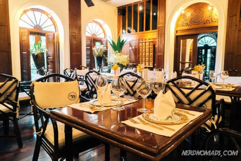 Blue Elephant Restaurant Bangkok