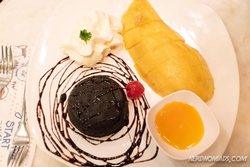 Chocolate Cake Mango