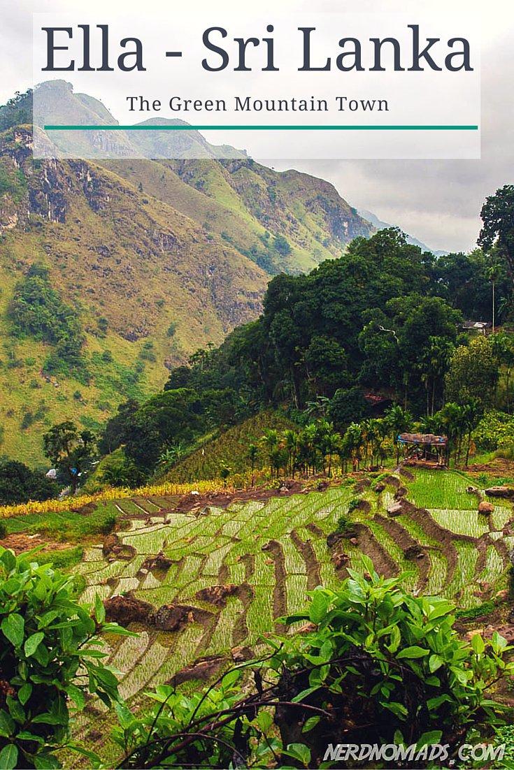 The Lovely Mountain Town Ella in Sri Lanka - Nerd Nomads