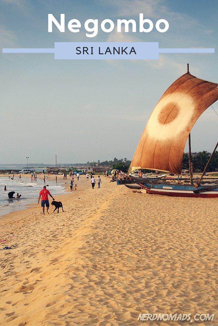 Our Last Day In Sri Lanka Spent At Negombo Beach Nerd Nomads
