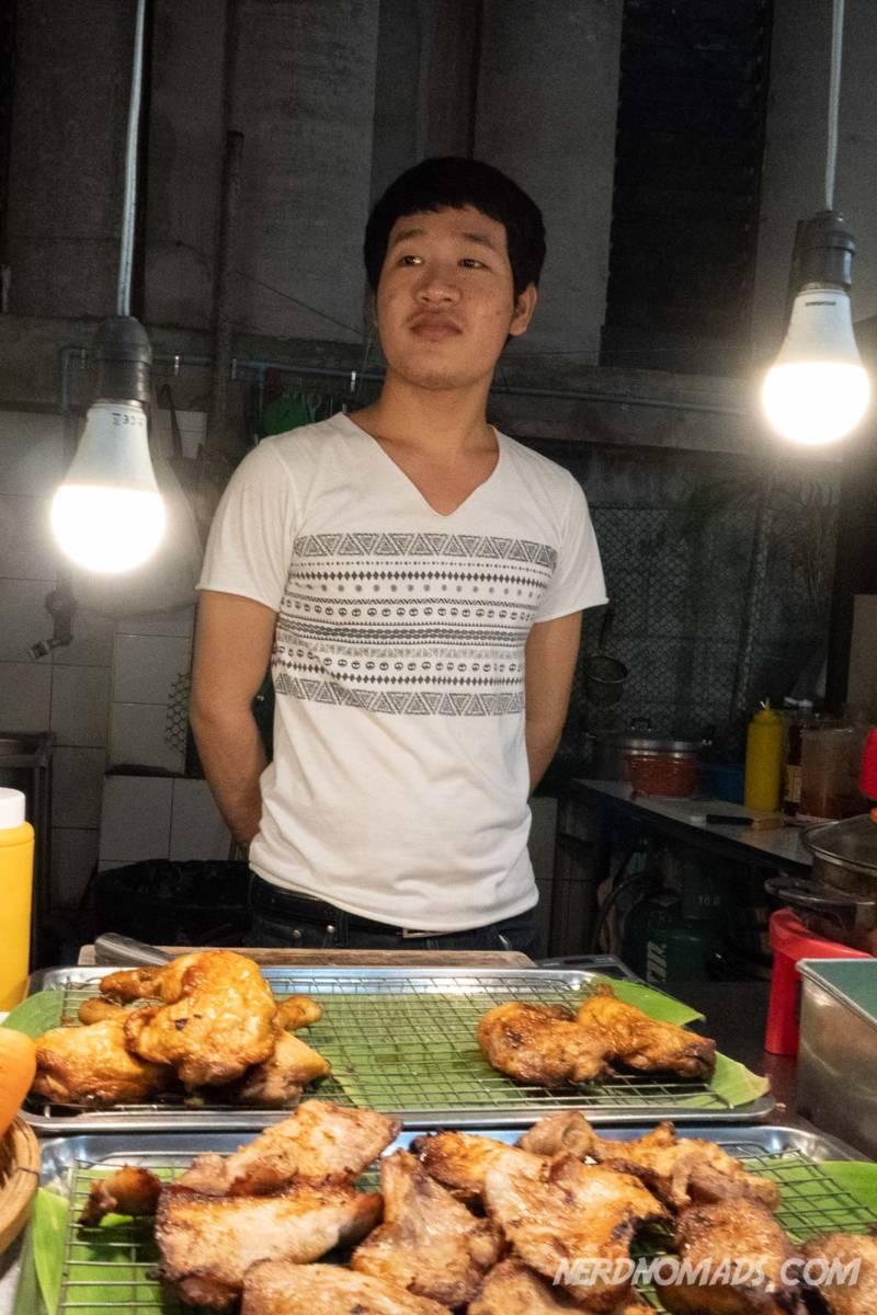 Food seller Soi 38 Bangkok