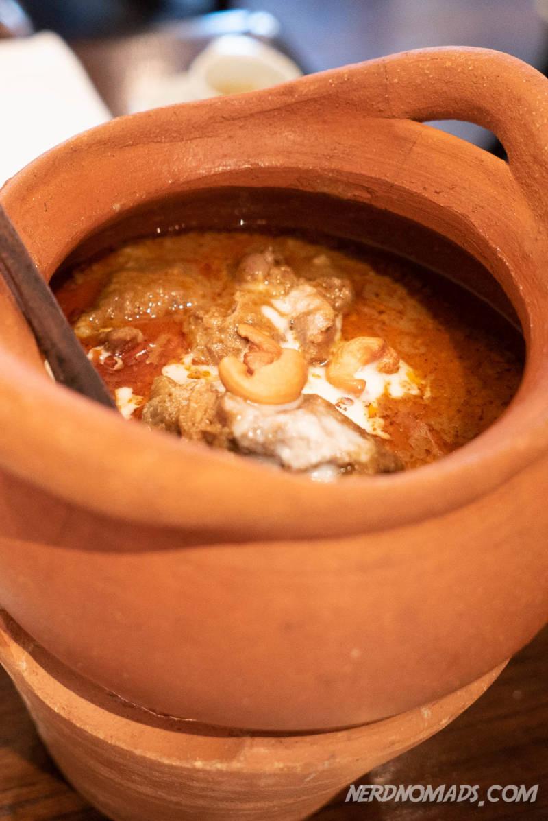 Red Curry at Blue Elephant Restaurant Bangkok