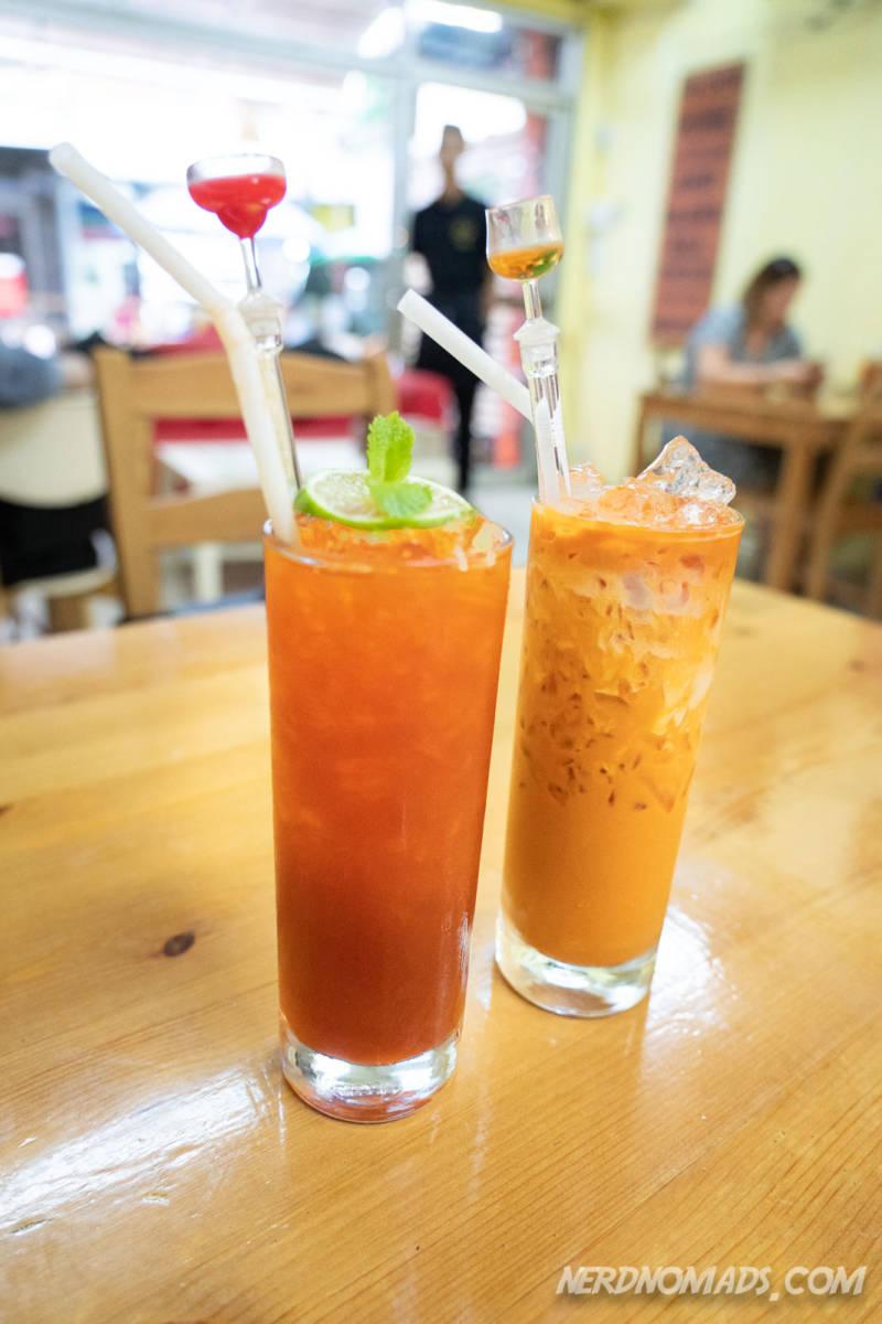Thai Tea at Tealicious Restaurant Bangkok