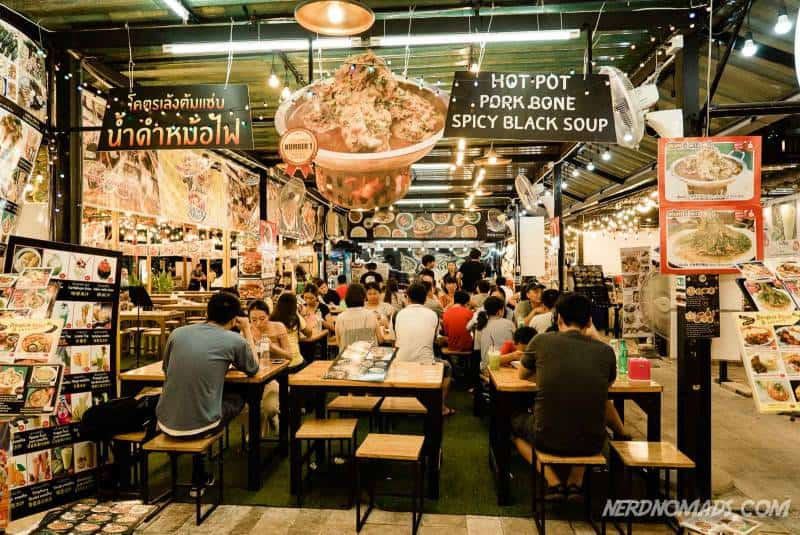 Neon Market in Bangkok has plenty of cool restaurants