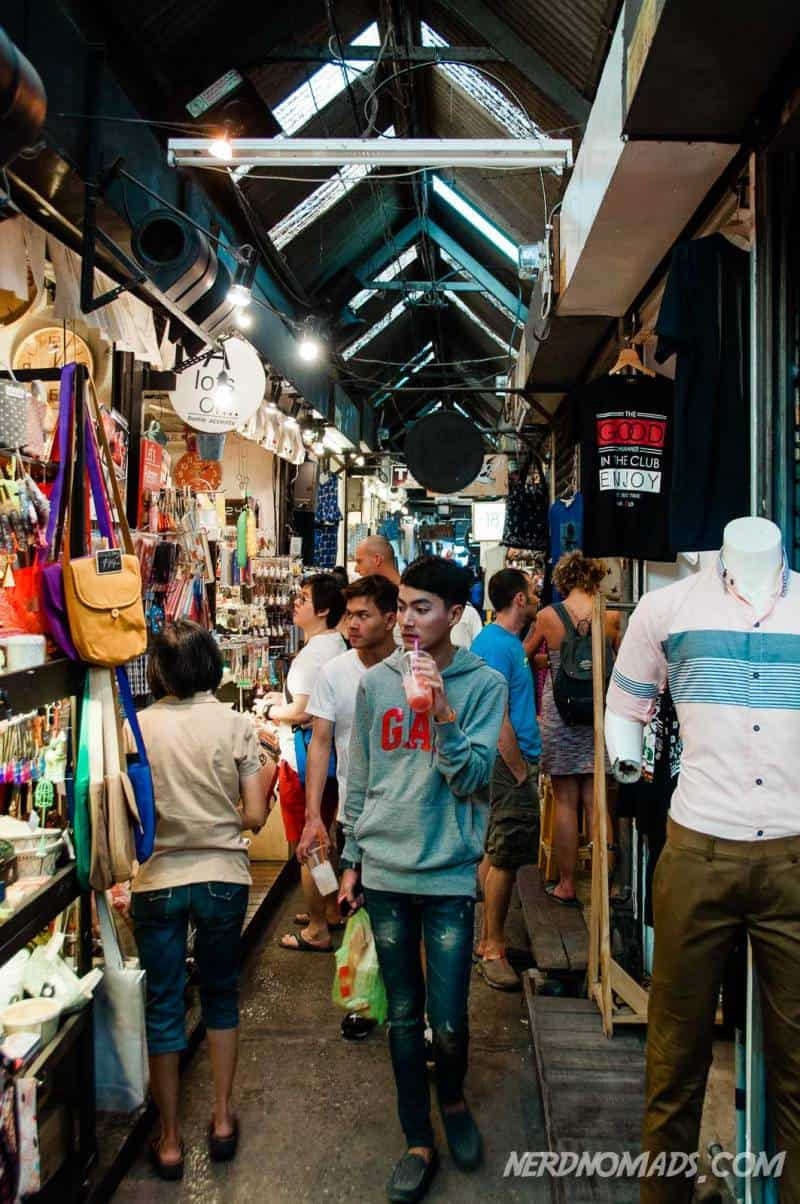 Lots of nice things to shop at Chatuchak Market