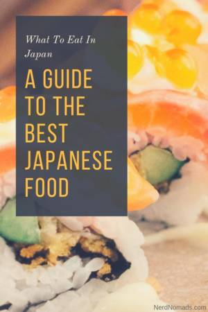 a guide to the best food in Japan