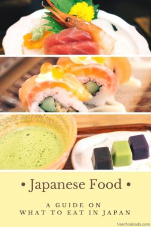 Must try Japanese food