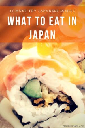What food to eat in Japan