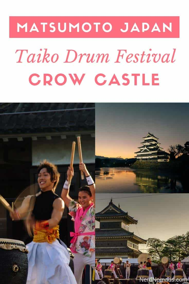 The ultimate guide to Matsumoto Japan. The highlights of Matsumoto include Matsumoto Castle (also called Crow Castle) and there is an annual Taiko Drum Festival in the city which is awesome!