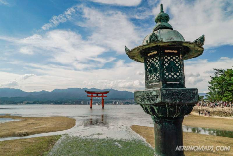 Low Tide at Miyajima Island