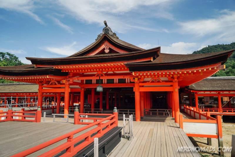 Miyajima Island Itsukushima-jinja Shrine