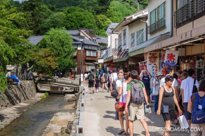 Shopping Street Miyajima Island