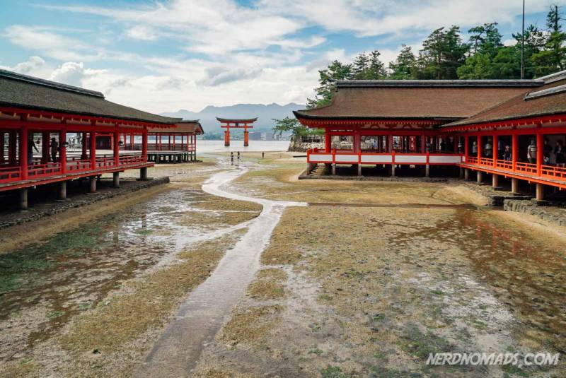 Shrine at Miyajima Island