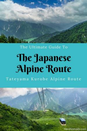 Guide to Tateyama Kurobe Alpine Route