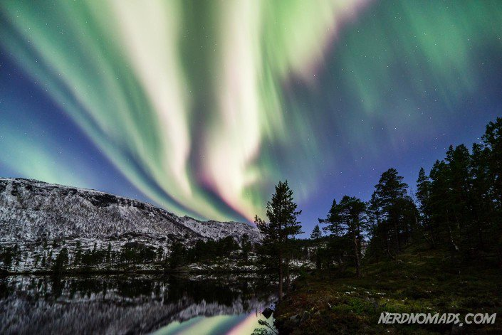 Colourful Northern Lights