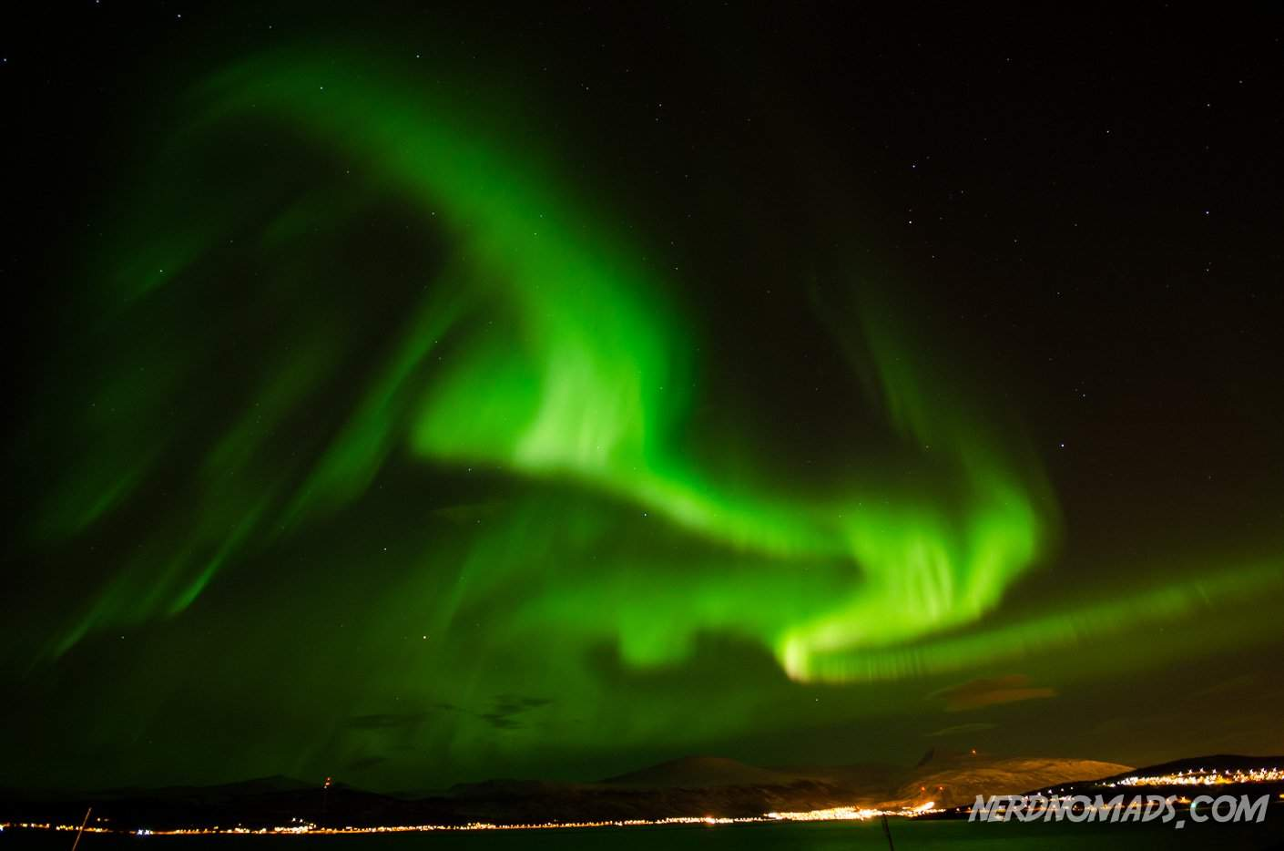 Chasing The Northern Lights In Tromso Norway Nerd Nomads