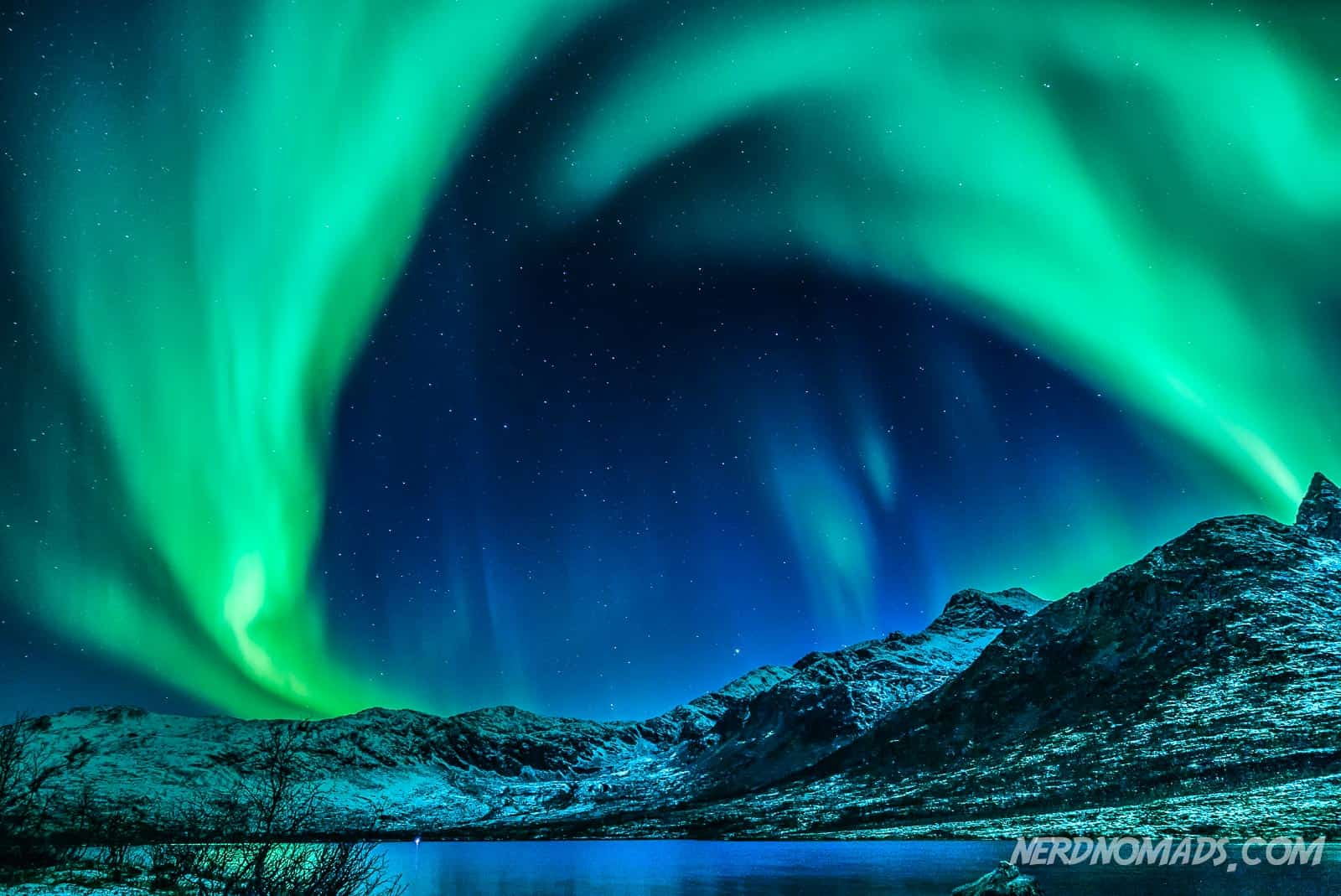Chasing The Northern Lights In Tromso Norway 2019 Nerd
