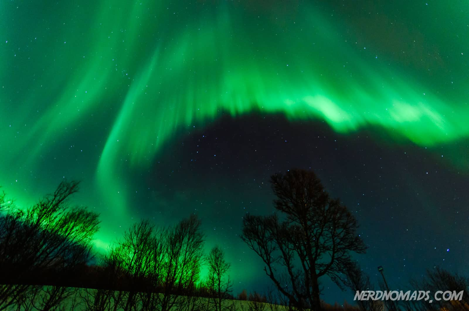 Chasing the Northern Lights in Tromso, Norway - Nerd Nomads