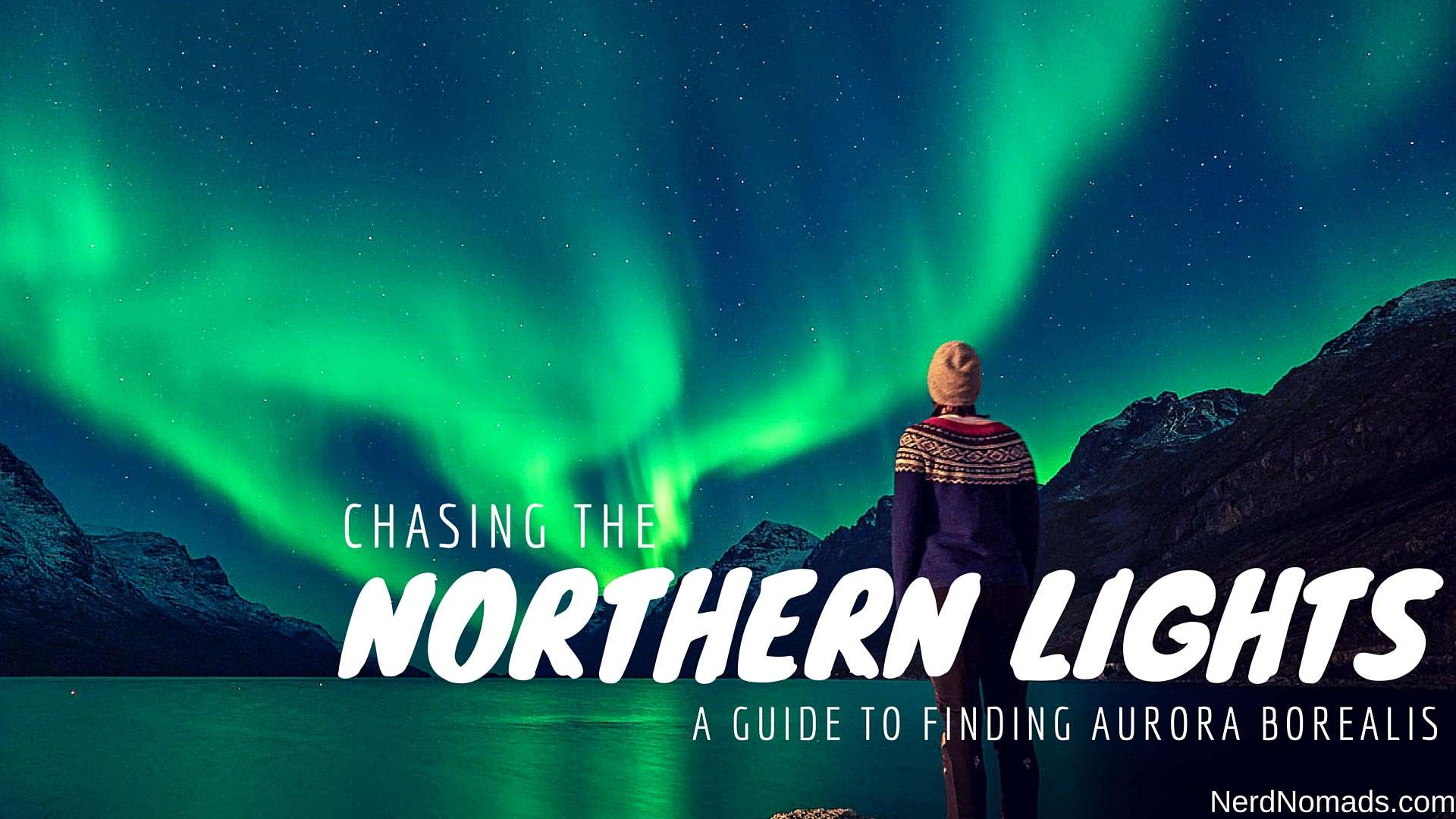 Chasing The Northern Lights In Tromso, Norway