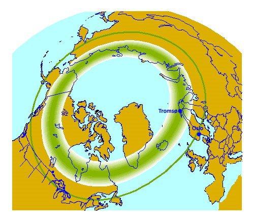 Northern Lights oval