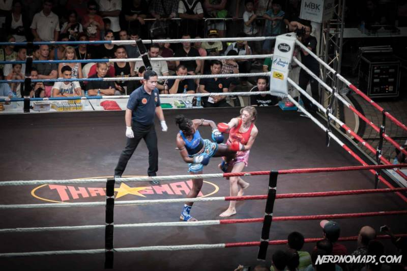 Muay Thai MBK shopping mall