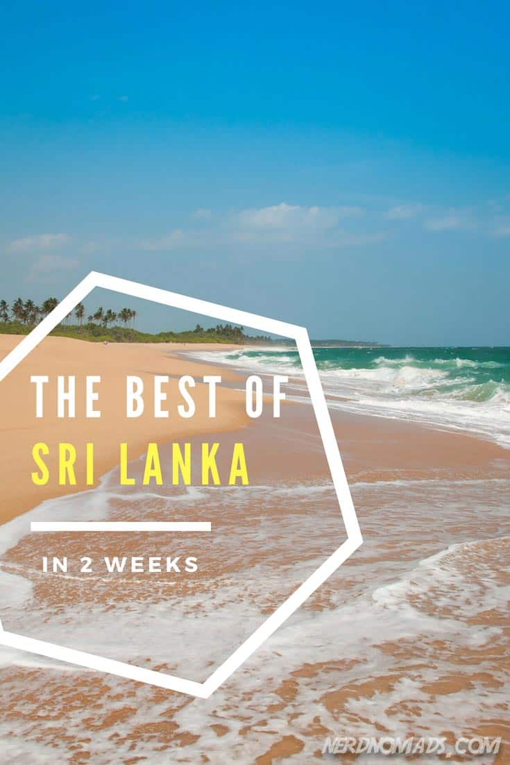 A complete two-week Sri Lanka itinerary on how to get the most out of your trip. These are all the must-visit places and the top things to do in Sri Lanka! #srilanka #srilankaitinerary #bestofsrilanka