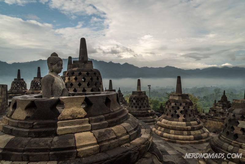 Lucky Buddha Borobudur