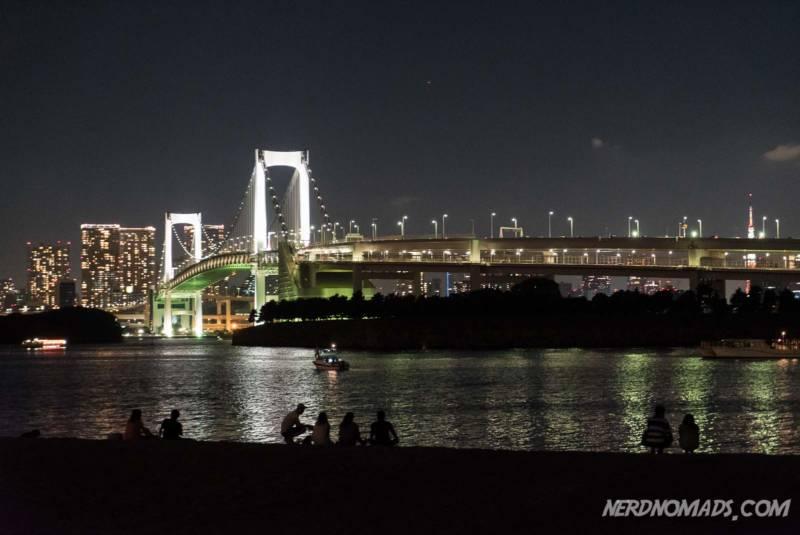 Beach Odaiba Tokyo
