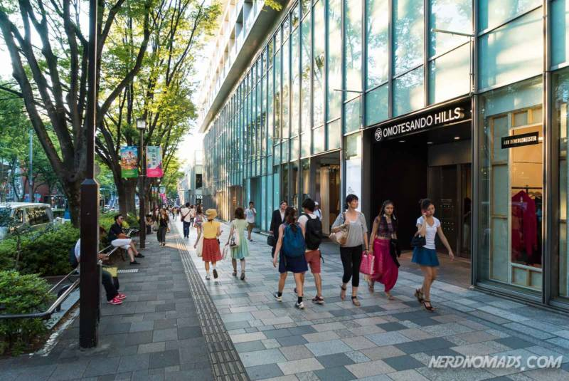 Omotesando Street Tokyo