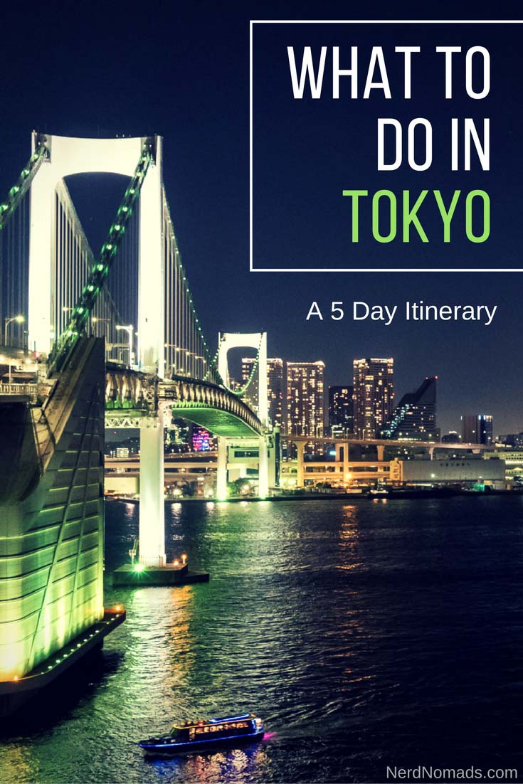 The ultimate Tokyo itinerary (5 days) and a guide to things to do in Tokyo Japan. All the highlights that you cannot miss when visiting Tokyo. Tokyo Travel | Tokyo Photography | Tokyo Must See | Tokyo Shopping | Tokyo Food | Tokyo Architecture | Tokyo Nightlife | Tokyo Temple | Tokyo Guide