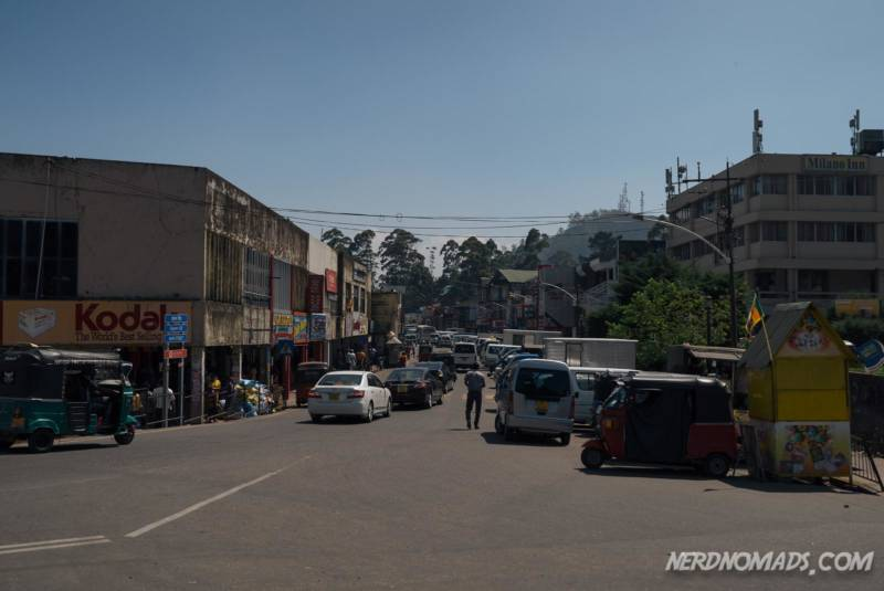 Nuwara Eliya downtown