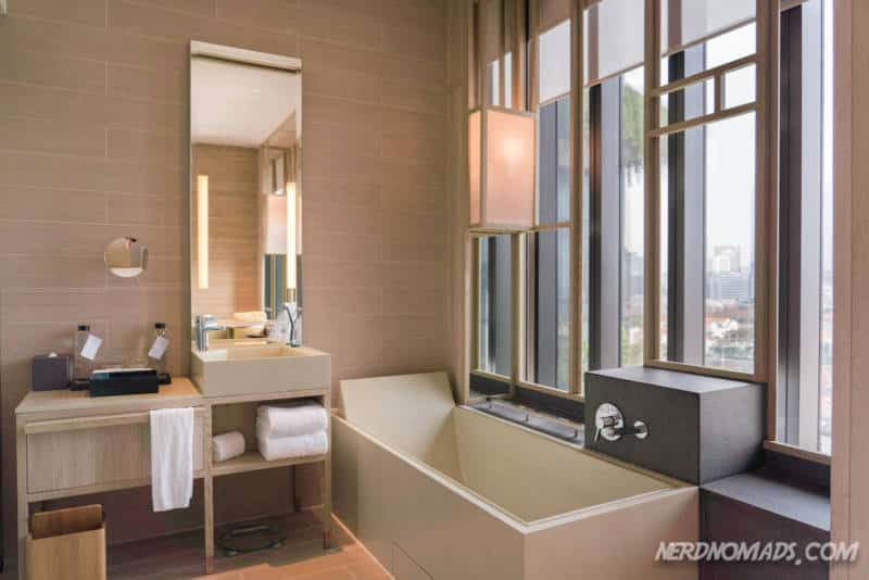 Bathroom Parkroyal On Pickering Hotel Singapore