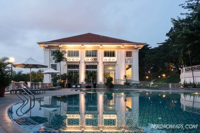 Swimming Pool Hotel Fort Canning Singapore