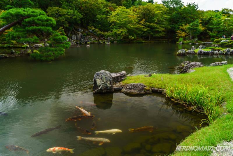 Tenryu-ji Temple Zen Garden