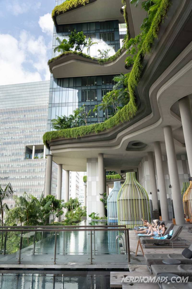 Hanging Gardens at Parkroyal On Pickering Hotel