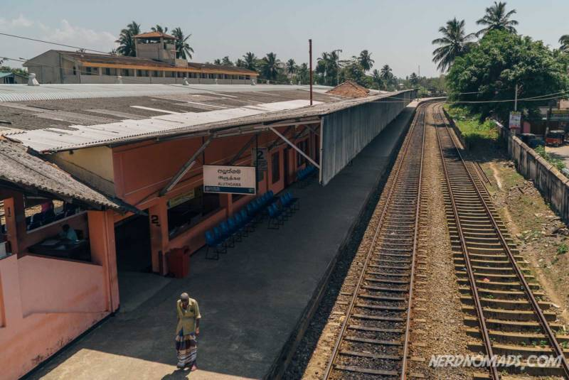 Aluthgama Train Station