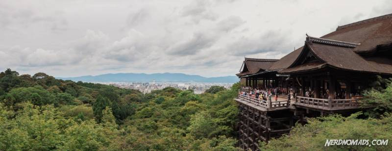 Kiyomizu-deraTemple - Kyoto's most famous landmark