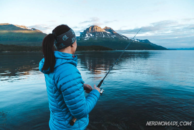 Fishing at Hella Tromso