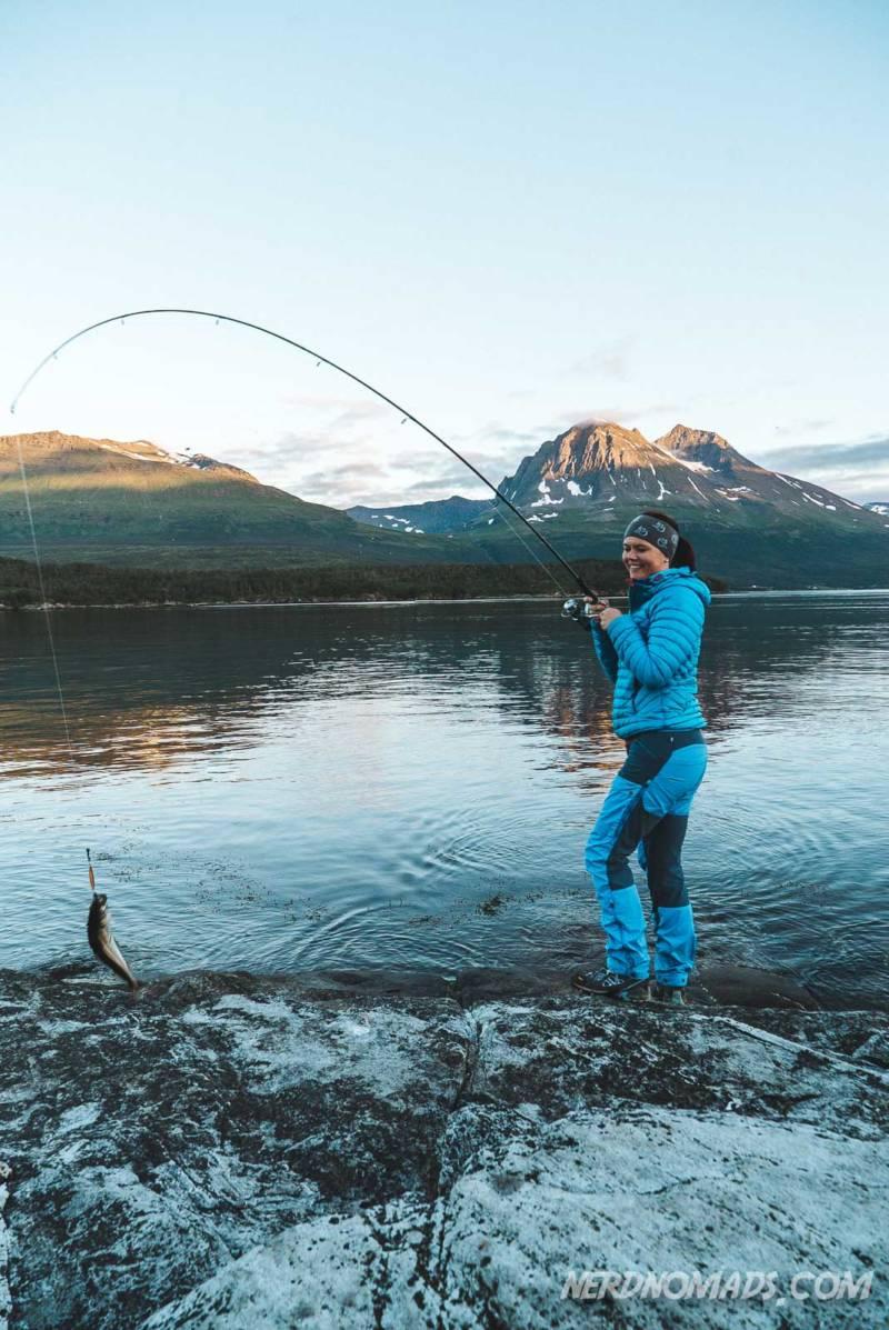 Fishing at Hella in Tromso