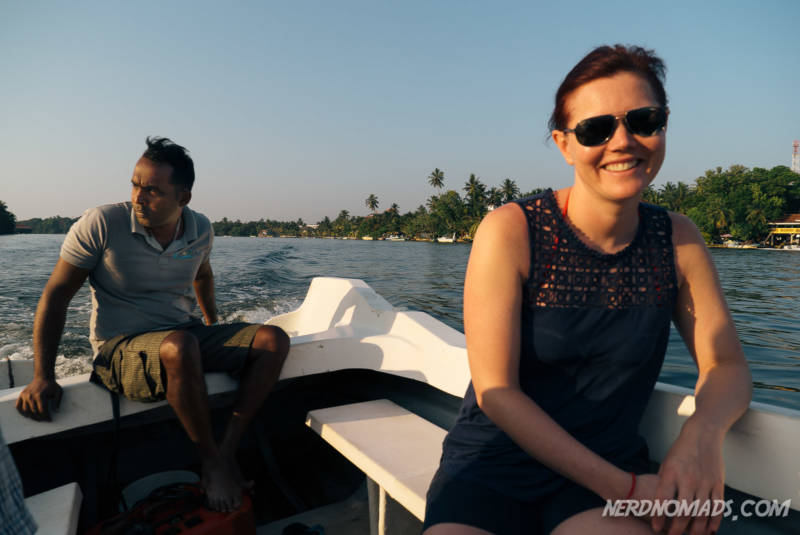 River boat Bentota